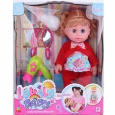 Кукла Lovely Baby с аксессуарами (звук)