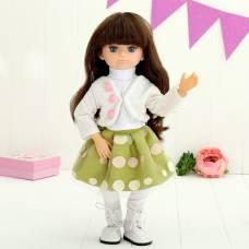 Кукла интерактивная шарнирная «Алиса» с аксессуарами и микрофоном, мимика лица, отвечает на голосовые команды, высота 48см Tongde