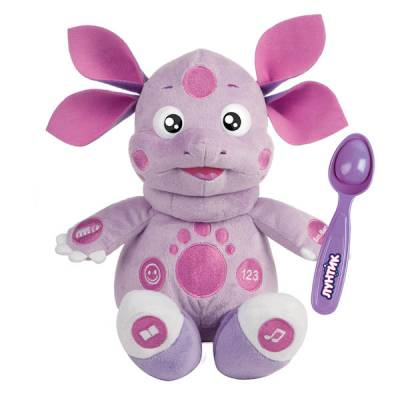 Мягкая игрушка Лунтик, 10 функций Мульти-Пульти