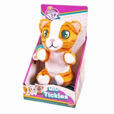 Интерактивный котенок Club Petz, рыжий полосатый IMC toys