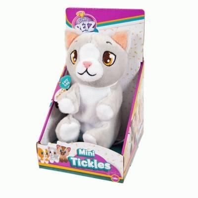 Интерактивный котенок Club Petz, серый IMC toys