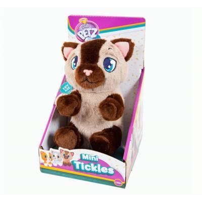 Интерактивный котенок Club Petz, бежево-коричневый IMC toys