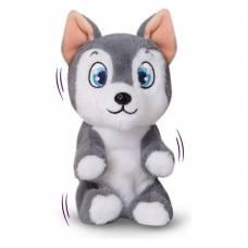 Интерактивный щенок Club Petz - Хаски, серый IMC toys