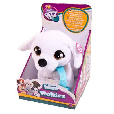 Интерактивная игрушка Club Petz Mini Walkiez - Щенок Bichon  IMC toys