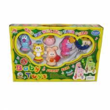 Музыкальные игрушки-погремушки на подвеске Funny Bell
