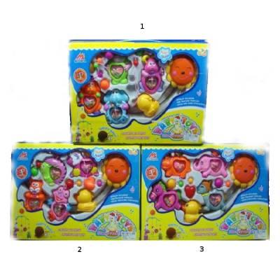 Заводная карусель с погремушками на стойке Baby Toys - Music Rock Ling