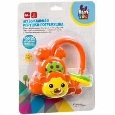 Музыкальная игрушка-погремушка