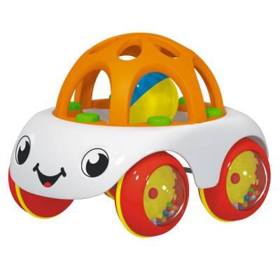 Машинка с погремушками