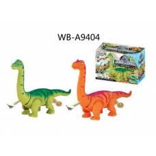 Динозавр, ходит, световые и звуковые эффекты, откладывает яйца, 22х12х15,5 см Junfa Toys