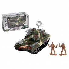 Игровой танк Heavy Battle Tanks с аксессуарами (свет, звук)