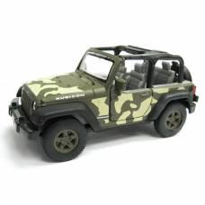 Масштабная модель автомобиля Jeep Wrangler Rubicon, 1:34-39 Welly