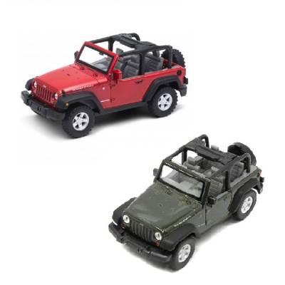 Модель машины Jeep Wrangler Rubicon, 1:31 Welly