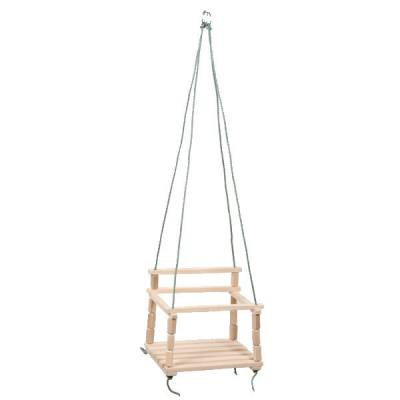 Детские деревянные качели, подвесные Промтекс