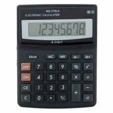 Калькулятор настольный, 8-разрядный, MS-270LA, двойное питание Sima-Land