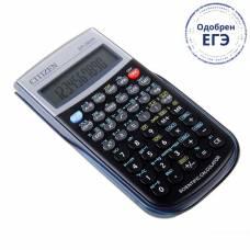 Калькулятор научный 10+2-разрядный SR-260N, 70*149*12мм, питание от батарейки, черный Citizen