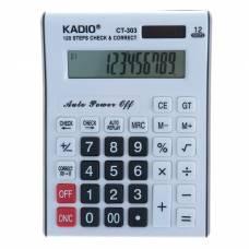 Калькулятор настольный, 12-разрядный, 303, двойное питание Kadio