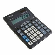Калькулятор настольный 16-разрядный CDB1601BK 157х200х35 мм, двойное питание, чёрный Citizen