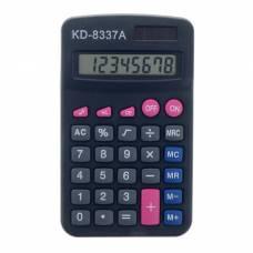 Калькулятор карманный, 8-разрядный, двойное питание Sima-Land