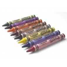Большие смываемые мелки, 8 шт. Crayola