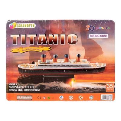 Конструктор 3D TITANIC, 35 деталей Sima-Land