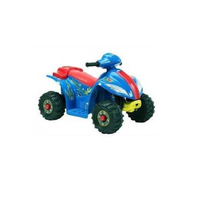 Квадроцикл Quatro (на аккум.), красно-синий