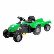 Веломобиль «Трактор», с прицепом Sima-Land