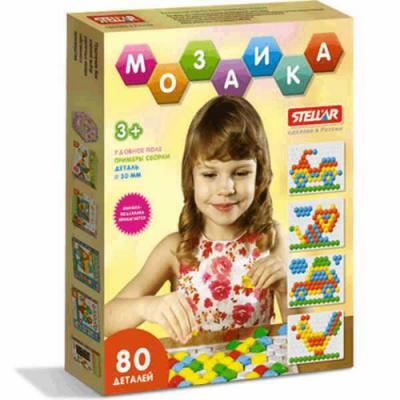 Детская мозаика, 80 элементов  Stellar