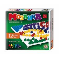 Детская мозаика, 120 элементов, 6 цветов Десятое Королевство