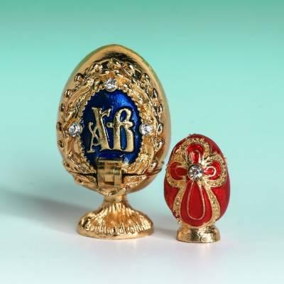 Яйцо-шкатулка «Верба» (яйцо), 2 х 3,4 см Sima-Land