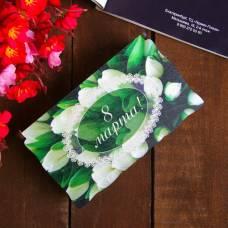 Купюрница «8 марта», с тюльпанами, 10×17×6 см Sima-Land