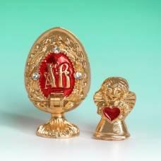 Яйцо-шкатулка «Верба» (ангел), 2 х 3,4 см Sima-Land