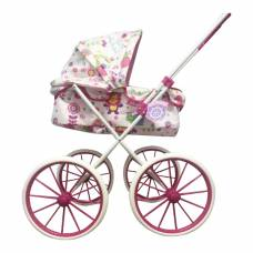 Коляска-люлька для кукол с большими колесами 1TOY