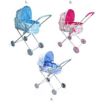 Классическая коляска-люлька для кукол 1TOY