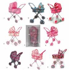 Классическая коляска для кукол Melobo с козырьком Melobo