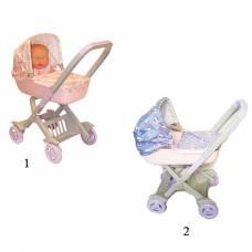 Детская коляска для пупсов, большая Завод Огонек