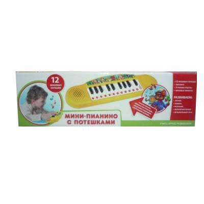 Детское пианино с потешками Умка