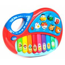 Детский музыкальный инструмент Animal Piano, 8 клавиш Shenzhen Toys