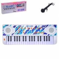 Синтезатор «Уроки музыки» с микрофоном, 37 клавиш Sima-Land