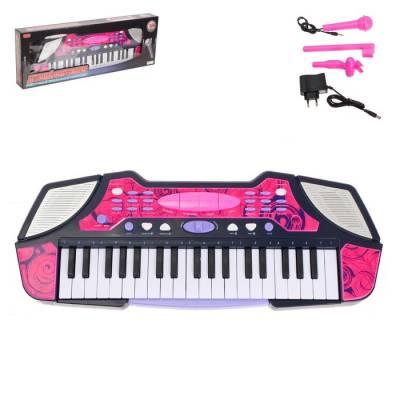 Синтезатор «Детский-2» с микрофоном, 37 клавиш, функция записи и воспроизведения Zhorya