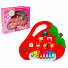 Музыкальная игрушка-ионика «Клубничка», звуковые эффекты Sima-Land