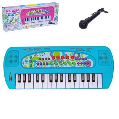 Синтезатор «Мечта ребёнка» с микрофоном, 32 клавиши Sima-Land