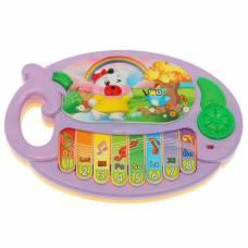Музыкальная игрушка-пианино «Медведица-путешественница», звуковые эффекты Sima-Land