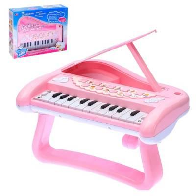 Развивающая игрушка «Детское пианино», звуковые эффекты, викторины, голоса животных Sima-Land