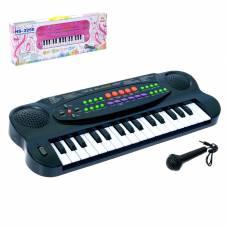 Синтезатор «Музыкальная игра» с микрофоном, 32 клавиши Sima-Land