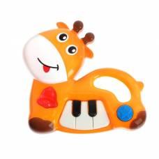 Музыкальная игрушка-пианино «Зверюшка», звуковые эффекты Sima-Land