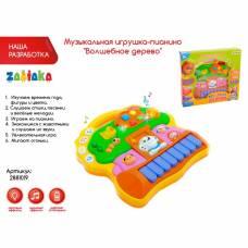Музыкальная игрушка-пианино «Волшебное дерево» световые эффекты Забияка
