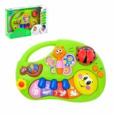 Музыкальная игрушка-ионика «Гусеничка», звуковые эффекты, английская озвучка Sima-Land
