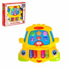 Музыкальная игрушка-ионика «Бибика», забавные мелодии, световые эффекты, русская озвучка Tongde