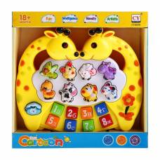 Музыкальная игрушка-ионика «Жирафики», звуковые эффекты, работает от батареек Sima-Land