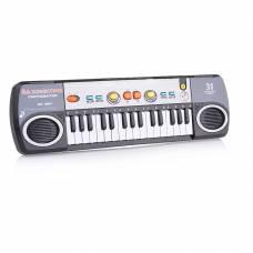 Детский синтезатор с микрофоном, 31 клавиша (на бат.) Play Smart